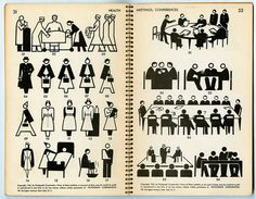 Pictographs Today and Tomorrow (1938) by Rudolf Modley via… « Tracing ∆'s –