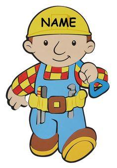Namen   Aus Moosgummi   Baustelle Wandsticker Wanddeko Für Kinderzimmer  Kind Kinder Deko Bilder Für Das Kinderzimmer Kleiner Bauarbeiter.