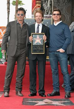 Jerry Bruckheimer is honored with a star on the Hollywood Walk of Fame in Hollywood, California. Stars Johnny Depp and Tom Cruise stopped by to join the festivities!