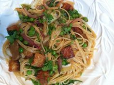 Tangy Tempeh Linguine from One-Dish Vegan
