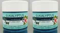 Two Eucalyptus Organic Balm Ointment against cold Neck Insect Sting shmerz Coffee Cans, The Balm, Water Bottle, Ebay, Grief, Salud, Beauty, Insects, Shoulder