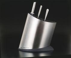 Global GKB-51 Veitsiteline Teräs ja musta, 31 cm Global Knives, Knife Block