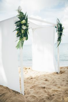 Breezy white canopy | Image by Amber Phinisee