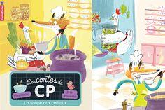 La Soupe Aux Cailloux | Jess Pauwels Illustrations