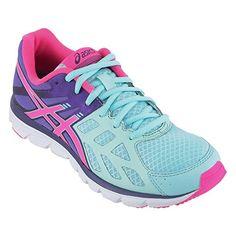 Asics Gel Zaraca 3 - Zapatillas de running para mujer, color azul / morado / rosa / blanco, talla 38 - http://paracorrer.com/producto/asics-gel-zaraca-3-zapatillas-de-running-para-mujer-color-azul-morado-rosa-blanco-talla-38/