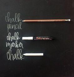 Best chalkboard lettering tips + tricks