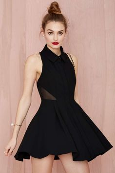 Nasty Gal Black Magic Woman Dress - Going Out   Fit-n-Flare   LBD   Dresses   LBD   All   The Sultry Siren   All