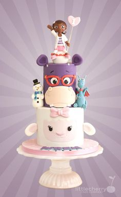 Doc McStuffins Cake by Little Cherry