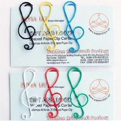 5 PCS Paper Clips Musical  Shaped Metal Bookmarks Cute Bookmarks-Color Random korean stationery on Etsy, 1,85 €