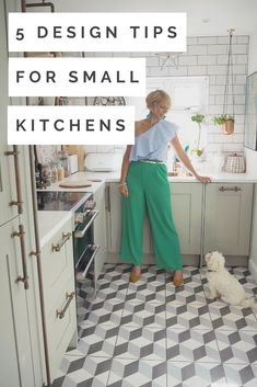 5 Design Tips For Your Small Kitchen - WeLoveHome - Home Interior Design Advice, Interior Stylist, Interior Design Kitchen, Ideal Home Magazine, House And Home Magazine, Cheap Kitchen Cabinets, Vertical Storage, Grey Room, Love Home