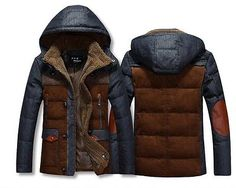British-Style-Winter-Mens-Hooded-Parka-Thick-Duck-Down-Coat-Outwear-Down-Jacket