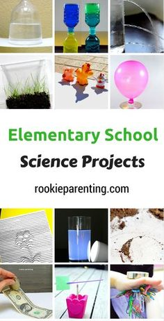 Awesome elementary school science projects