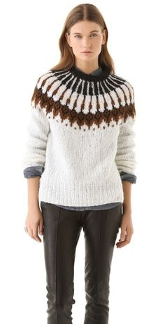 alc sweater  May have to get this if I move back to Chicago!
