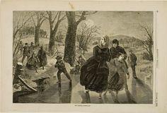 Winslow Homer, Skating Season, 1862 Harvard Art Museums/Fogg Museum