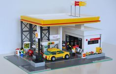 LEGO Shell Gas Station MOC_001