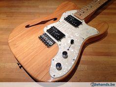 Fender Classic '72 Telecaster Thinline Naturel Ash - Te koop