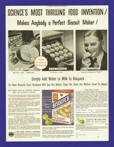 Collectibles Other Collectible Ads Cheap Sale 1937 Bisquick Biscuits Strawberry Jelly Ad Great Varieties