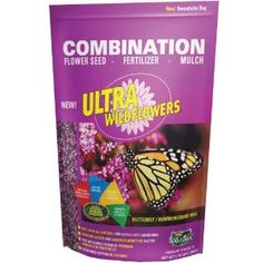 Amturf 44353 Ultra Wildflower Butterfly Hummingbird Mix, 1.75 Pounds by Amturf. $11.26. Seed, fertilizer and mulch all in one package. Ultra Wildflower butterfly and hummingbird mix. This product weight 1.75 pounds. A pre measured blend of perennials and annuals. The ultra wildflower butterfly and hummingbird mix is a combination of seed, fertilizer and mulch all in one package. It has a pre-measured blend of perennials and annual, it spreads easily and absorb...