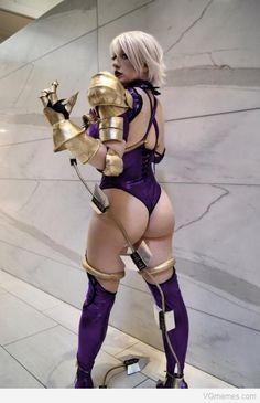 ivy soul calibur cosplay | Video Game Memes