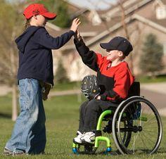 Wheelchair kids. #NMEDA