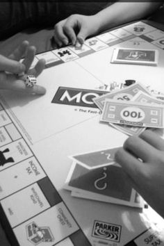 Monopoly action shot