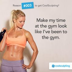 Don't let stubborn fat get you down. CoolSculpting can be your secret weapon, we won't tell.