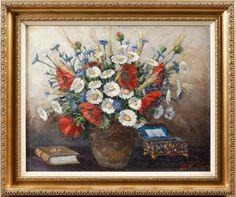 Quadro pintado a oleo do inicio do sec.20th, assinado, B.Krilov, 68cm x 55cm, 2,340 USD / 2,110 EUROS / 7,390 REAIS / 15,590 CHINESE YUAN