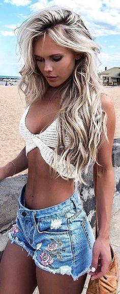 Blond hair | pinterest/suviiit