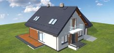 Projekt domu Galilea BIS 133,75 m2 - koszt budowy - EXTRADOM House Plans, Shed, Outdoor Structures, House Floor Plans, Home Floor Plans, Sheds, Tool Storage, Barn, Home Plans