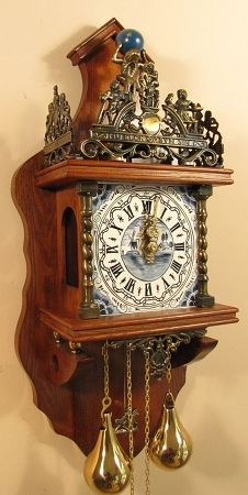 Old Dutch Large Zaandam Clock Of Holland Holland
