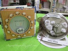 Inspiration | docrafts.com Owl Card, Owls, Card Ideas, Stamps, Lunch Box, Scrapbooking, Urban, Projects, Cards