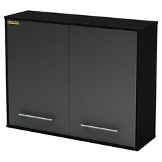 The perfect addition to your basement or garage, this essential wall storage cabinet features 2 doors and ample shelving.   Product...