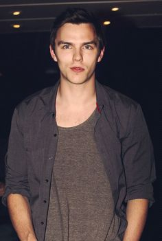 Nicholas Hoult, stop being so perfect, okay? Just stop, I might die.