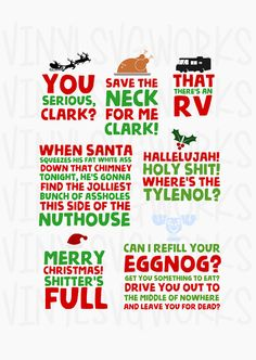 Best Christmas, Christmas Vinyl, Christmas Shirts, Christmas Projects, Holiday Fun, Christmas Time, Christmas Vacation Pajamas, Griswold Christmas Vacation, Christmas Vacation Quotes