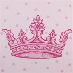 Tiara. With Lily's name on my wrist and a kings crown on my other wrist with Owen's name.