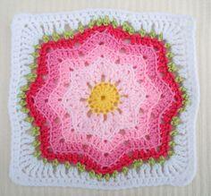 (via Ravelry: Maryfairy's Nordic Star for Crochet Sampler Favorites CAL)