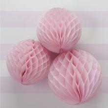 Pink honeycomp paperipallot 3kpl 8,40€
