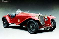 The Car: Alfa Romeo 8C 2300 Mille Miglia Spyder by Castagna, #2211072, Unrestored, 1933 🚗 12cylinders