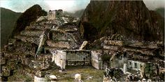 19th century machu picchu - Go Page by arthur lubow - 15th-Century Getaway A hand-colored 1911 photograph of Machu Picchu, the wintertime retreat of the Inca ruler Pachacuti Yupanqui. More Photos >