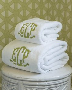 Southern Living Guide to Proper Monograms