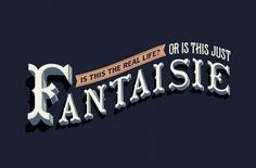 "Free font (OK to use commercially) ""Fantaisie"" by Lev Berry"