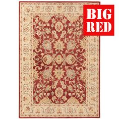 Red | Agra Twist: Asiatic Rugs - Best prices in the UK from The Big Red Carpet…