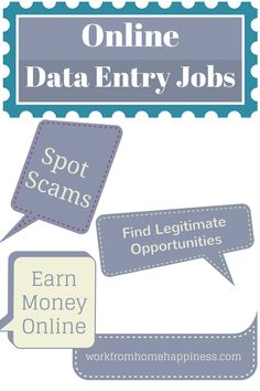 how to find data entry jobs