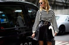 Best Striped Looks, Look of the Day - Street style, LOTD