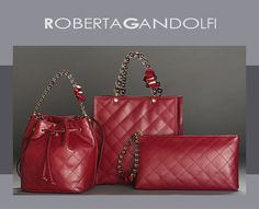 Roberta Gandolfi bags collection #bags  #womenbags
