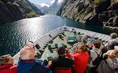 Hurtigruten cruise: Northern Lights in Norway