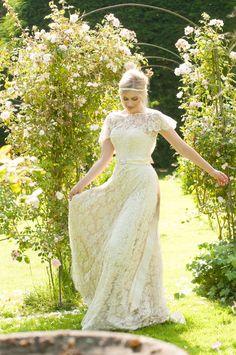 Introducing Lyn Ashworth by Sarah Barrett – Romantic and Feminine Lace Gowns