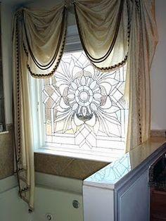 gallery glass on a window