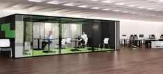 Workspace Inwerk MasterPod® XXXL Office Pods, News Space, Office Workspace, Montage, Innovation, Phone, Furniture, Home Decor, Telephone Booth