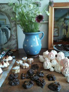 Calissons de frangipane en meringue
